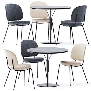 3D Round Kelly T Table by Tacchini