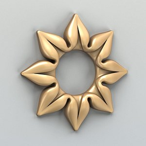 3D cnc rosette