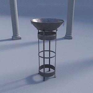 pit metallic 3D model