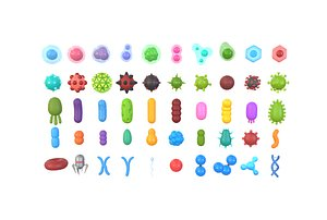 3D Biology Pack model