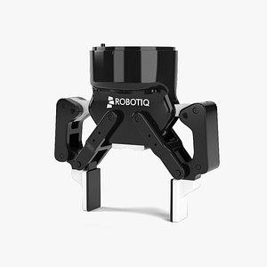 3D model gripper robot