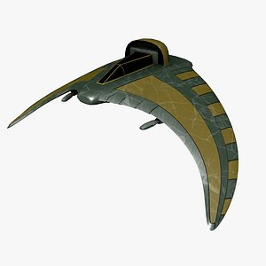 battle glider 3D model