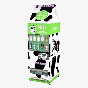 3D original vending machine decoration
