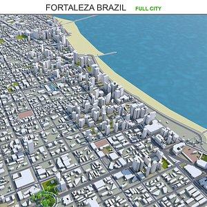 Fortaleza Brazil 3D