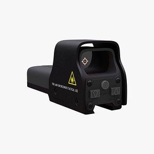 holo sight 3D model