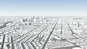 3D Los Angeles City