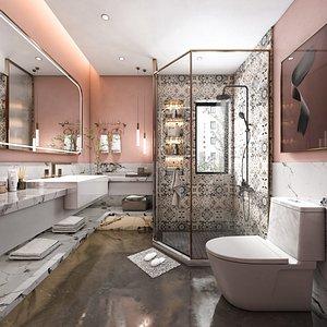 Bathroom 3D model 3D