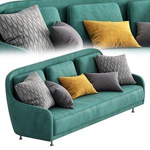 3D model sofa audrey