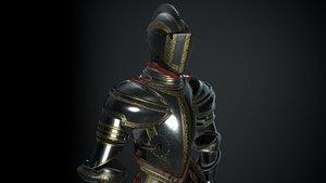 armor medieval 3D model