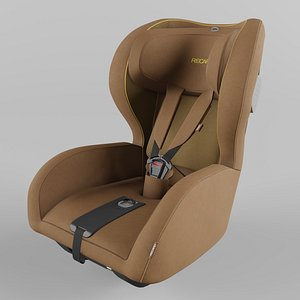 Recaro KIO Children Car Seat Select Sweet Curry 3D