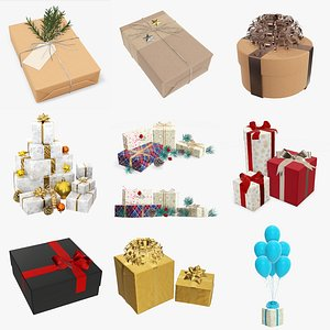 christmas holiday ornament 3D model