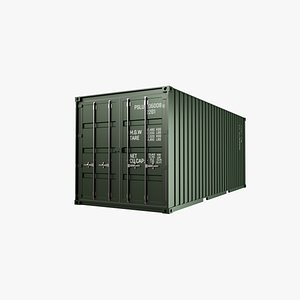 container 3D model