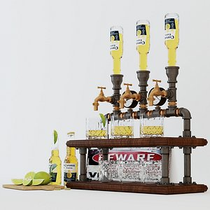 3D model Liquor Dispenser LD7