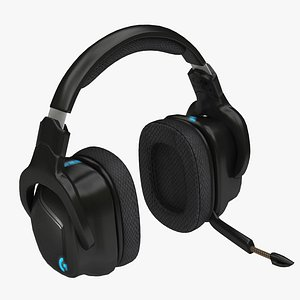 3D headphone headset