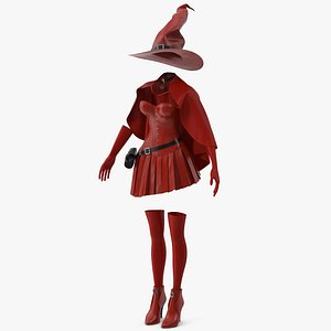 Witch Costume 4 3D model