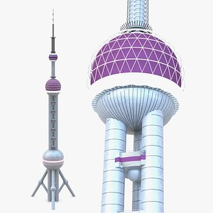 Telecommunication Tower 08 3D model