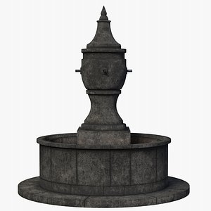 Fountain Old 3D model
