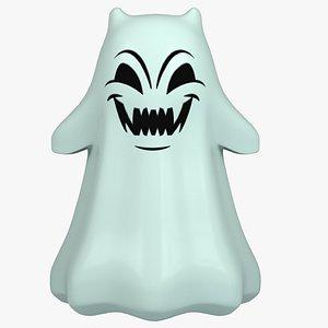 cartoon ghost toon model