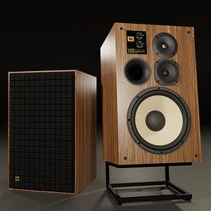 JBL L100 Classic 75th Anniversary Edition 3D model