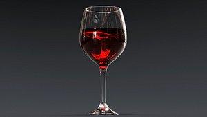 3D drink glass - beer model