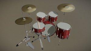 3D drumkit drum