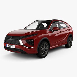 3D mitsubishi eclipse cross model