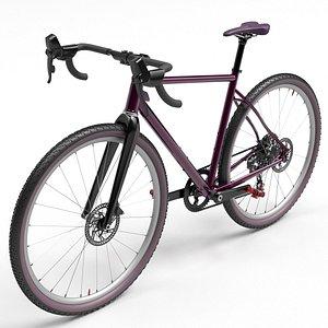 3D bicycle road cycle model