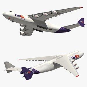 Antonov An225 FedEx model
