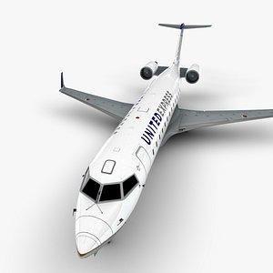3D express bombardier crj 200