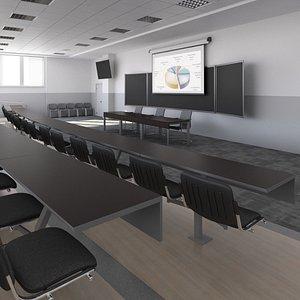3D auditorium conference