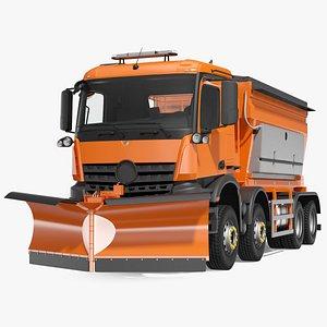 gritter truck 3D model