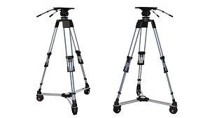 3D TV Studio Camera Pedestal tripod 3D