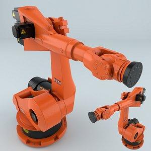 3D model industrial robot kuka