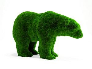 bear garden 3D