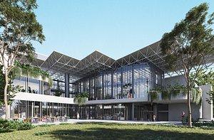 College building 3D
