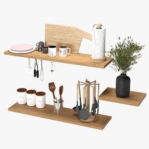 Kitchen accessories 01 3D model