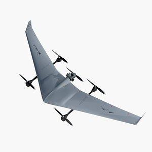 Diha Bayraktar UAV VTOL 3D