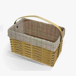 Boho Style Basket 3D model