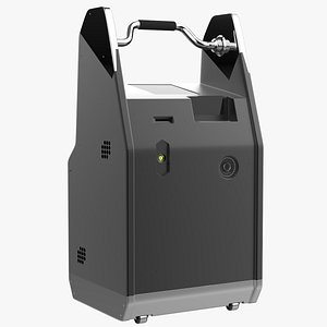 3D scifi mobile scan model