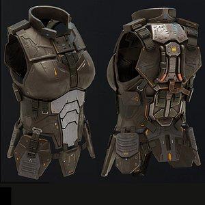 3D Body armour