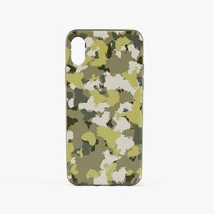 3D iPhone X Case 3 model