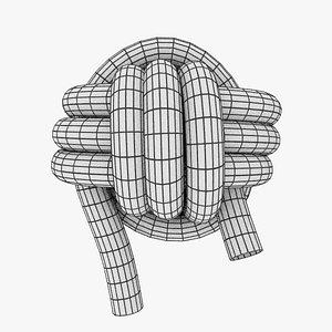 knot 3D model