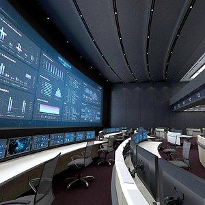 3D control room