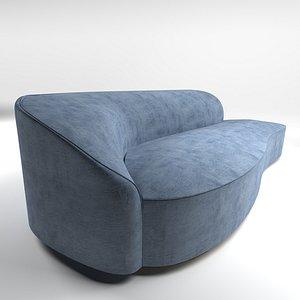 3D Sofa armchairs