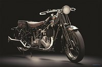 Vintage motorcycle cafe racer Ariel 550 SV 1928