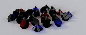3D diamonds 1