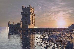 Belem Tower 3D