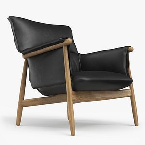 e015 lounge chair 3D model