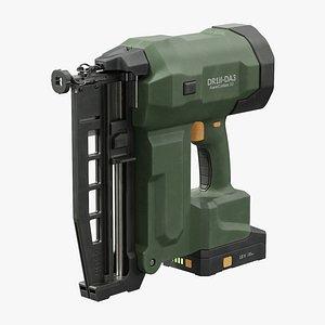 3D Cordless Nail Gun model