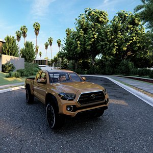 toyota tacoma 3D model